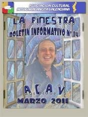 Boletín Nº 14 MARZO 2011